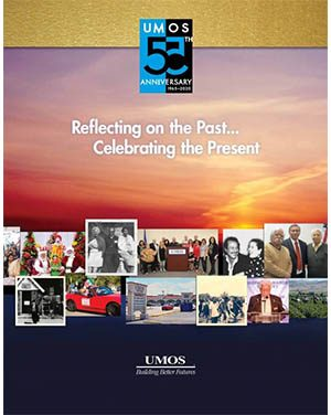 UMOS History Book cover