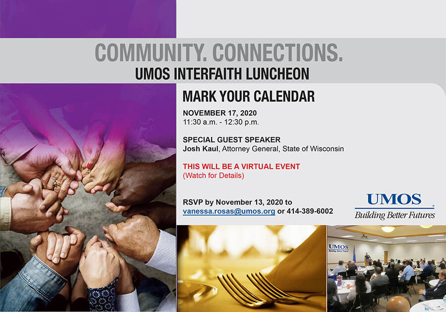 Interfaith Luncheon Flyer